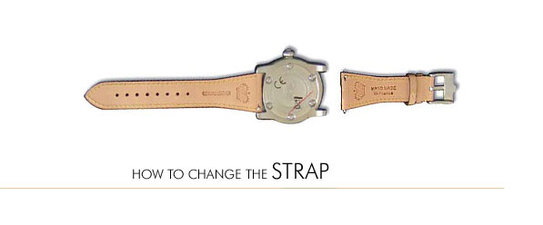 How to Change the Strap