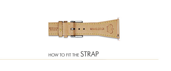 How to Fit the Strap