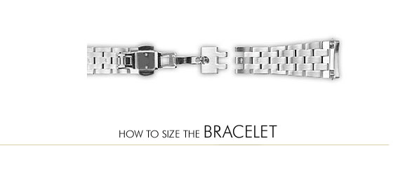 How to Size the Bracelet