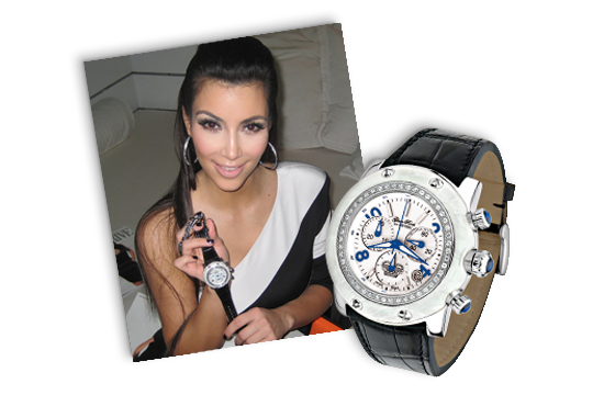 celebrities On celebrity rocks watches